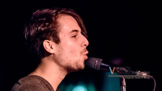 Bobby Bazini in Vancouver BC at the Media Club live in concert on March 26 2015