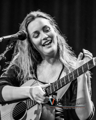 Leighton Meester in Vancouver at Rio Theatre March 1 2015 concert photo for VIES Magazine by Daniel W Young